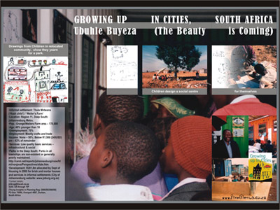 poster for Growing Up In Cities SA (YIP)