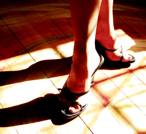shoe fettish light and shadow